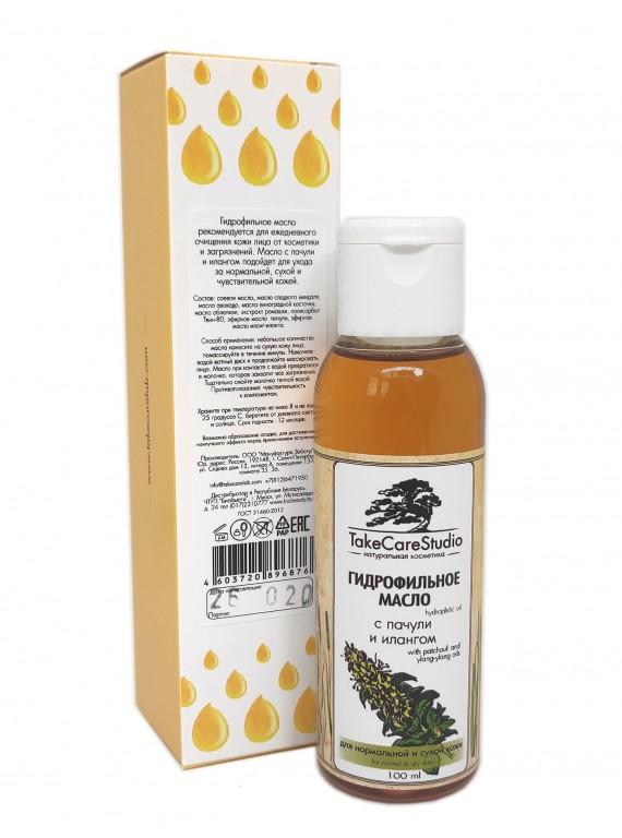 Гидрофильное масло с пачули и илангом